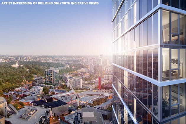 FOCUS Melbourne - 71-87 City Road, Southbank. Image: Central Equity