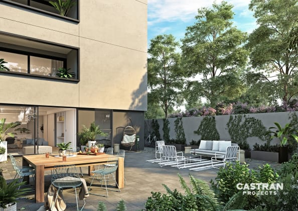 G1 Apartments - 148 Bellarine Street, Geelong. Image: Castran