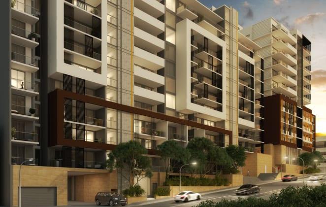 GrandH Apartments -  2-10 Woniora Road, Hurstville. Image: Deicorp