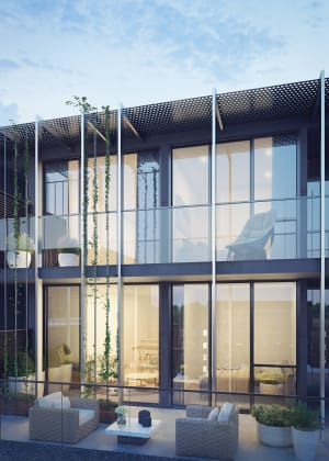 Hawthorn Club Apartments - 625 Glenferrie Road, Hawthorn. Image: Plus Architecture