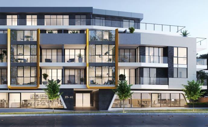 Hue Apartments - 37 Warrigal Road, Hughesdale. Image: Buchan Group
