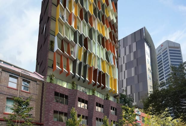 Kaz Tower - 273-279 Sussex Street, Sydney. Image: KAZCON