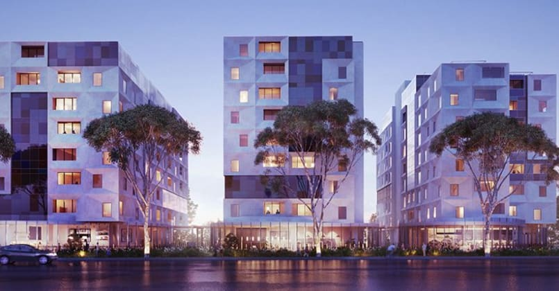 Kubix Apartments - 400 Burwood Highway, Wantirna South - Render © dealcorp.com.au