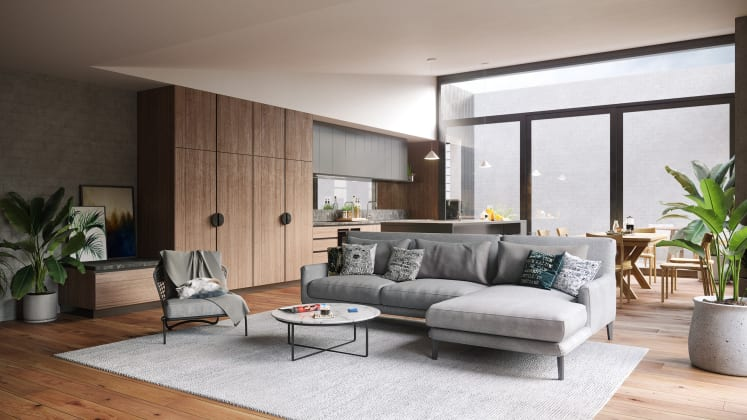 Leveson Place - 39 Leveson Street, North Melbourne. Image: Mason Developments