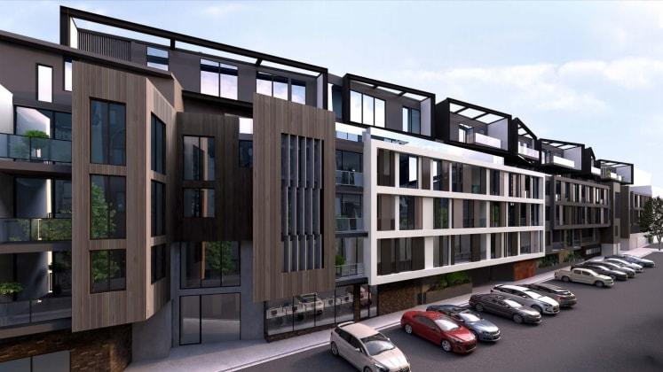 Longhouse - 17 Lynch Street, Hawthorn. Image courtesy JAM Architects