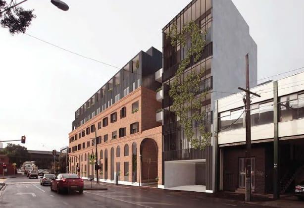 347-367 Macaulay Road, Kensington. Image: Pitch Architecture + Developments
