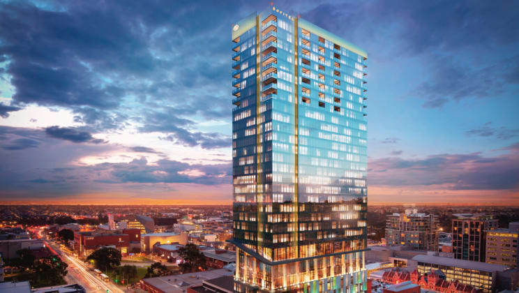 Luminesque - 108 Currie Street, Adelaide - image: Palumbo Group