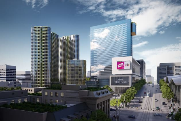 Melbourne Quarter Tower - 681 Collins Street, Docklands. Image: Lend Lease