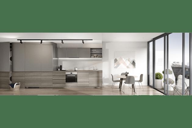 MILQ - Kitchen interior.  Image courtesy Plus Architecture