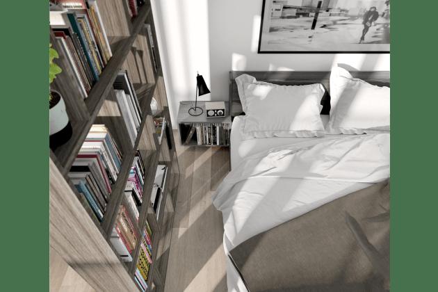 MILQ - Bedroom.  Image courtesy Plus Architecture