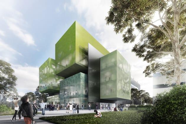 Monash Biomedical Learning and Teaching Building - Ancora Imparo Way, Clayton. Image: Icon Co