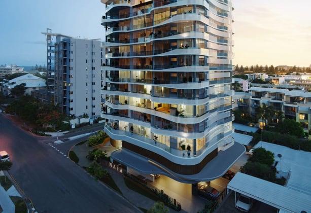 Naia - 28 Alexandra Avenue, Mermaid Beach. Image: TVS Architects