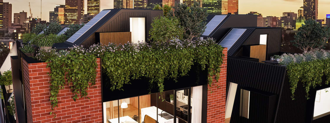 No. 108 - 108 Leicester Street, Fitzroy. Image: Castran
