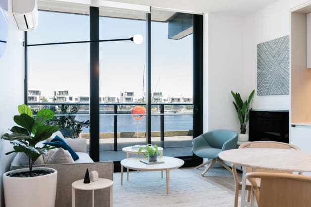 1 Collins Wharf - 915 Collins Street, Docklands. Image: Lendlease