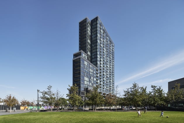 No.1 Collins Wharf - 915 Collins Street, Docklands. Image: Lendlease