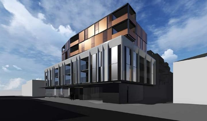 969-975 High Street, Armadale. Planning image: Hayball