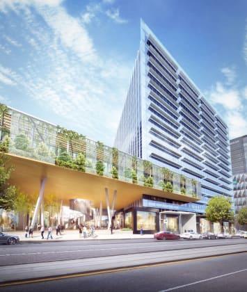 One Melbourne Quarter - 695 Collins Street, Docklands. Image : Lendlease