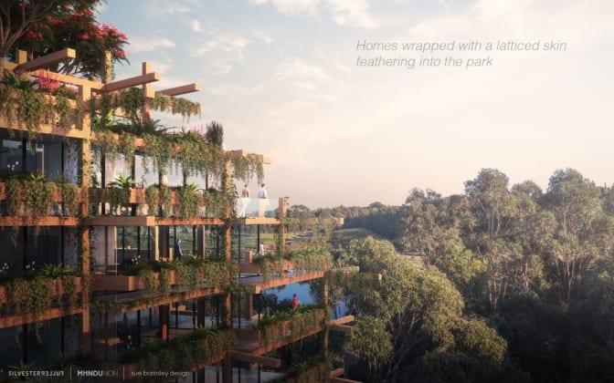One Sydney Park - 205-225 Euston Road, Alexandria. Image: MHN Design Union