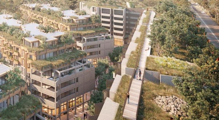 One Sydney Park - 205-225 Euston Road, Alexandria. Image: Silvester Fuller