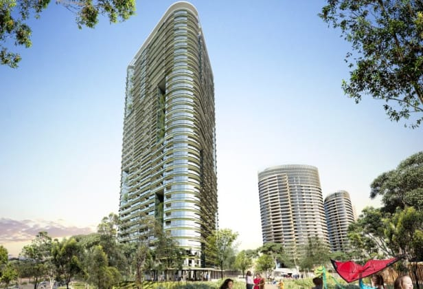 Opal Tower - 88 Bennelong Parkway, Sydney Olympic Park. Image: Ecove