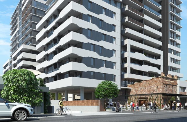 Oxford Central - 30-42 Oxford Street, Epping. Image: Marchese Partners