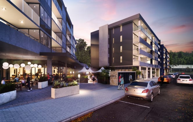 Parc - 2-13 Bowman Street, Macquarie. Image: Colliers