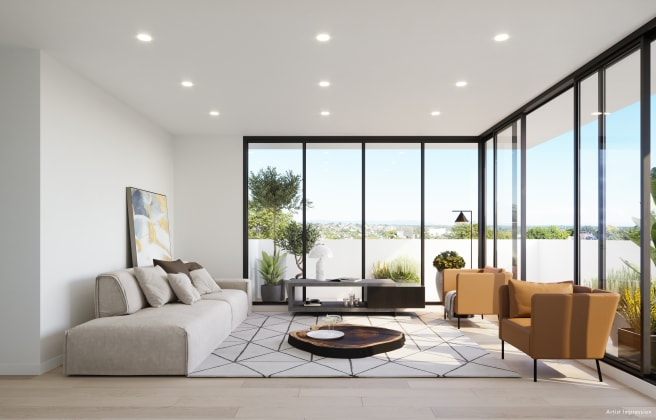 Parer Apartments - 137 Burwood Highway, Burwood. Image: Cornus