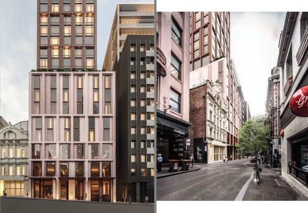 360 Little Bourke Street. Planning Image: Bates Smart