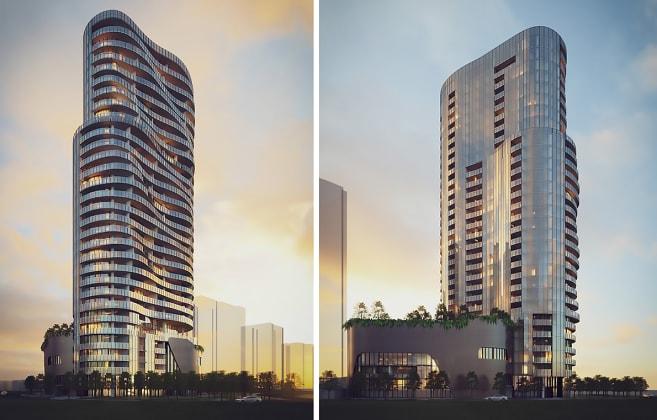 Peninsula Tower 6, Burswood. Planning Image