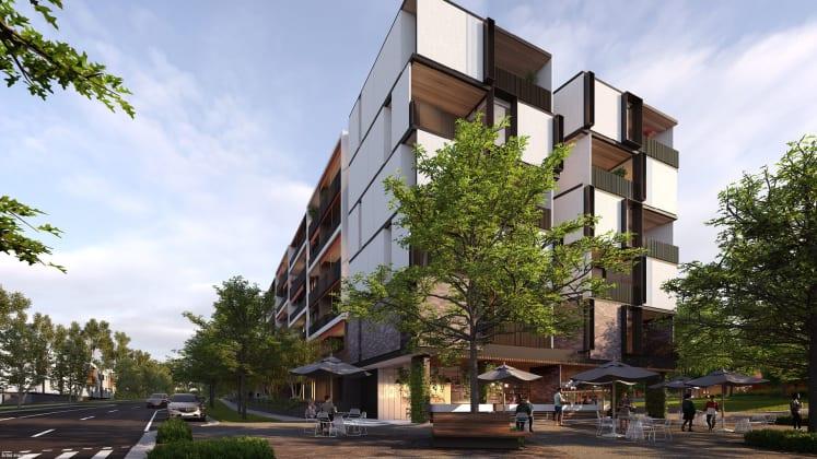 Plaza Garden Apartments, Burwood Brickworks. Image: Frasers Property