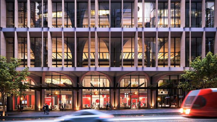 Poly Centre - 210-232 George Street, Sydney. Image: Poly