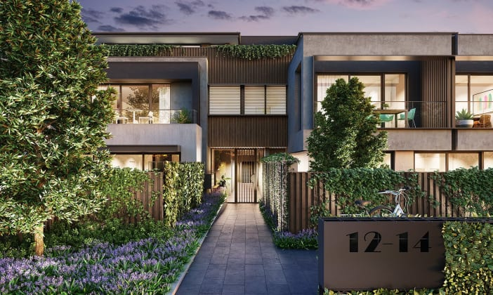 Q Apartments - 12 Quinns Road, Bentleigh East. Image: Luxor