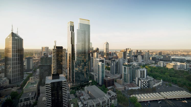 Queens Place - 350 Queen Street, Melbourne. Image: Colliers