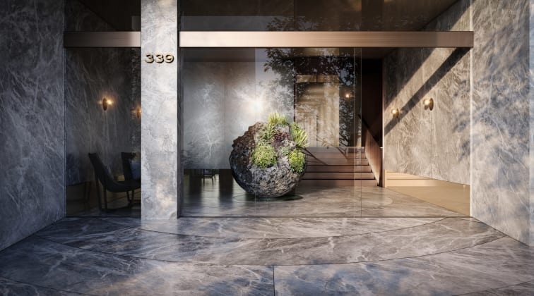 Rockley Gardens - Lobby Image: Capital Property Marketing