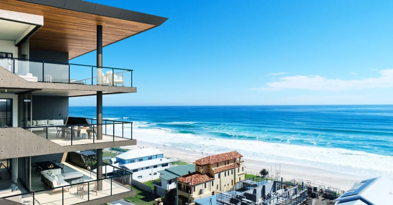 Sable - 1073-1077 Gold Coast Highway, Palm Beach. Image: CBRE