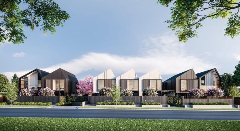 Saint George - 9-13 St Georges Avenue, Bentleigh East. Image: Samuel Developments