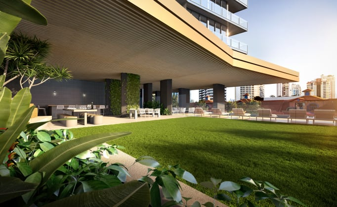 Signature - 12-18 Philip Avenue, Broadbeach. Image: Little Projects