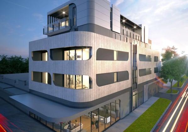 952-954 High Street, Preston. Image © Fraher Design 3D
