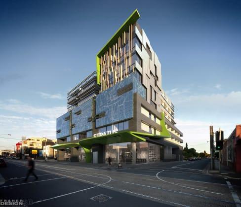 Stratus - 360 Lygon Street, East Brunswick - Render © FraherDesign 3D