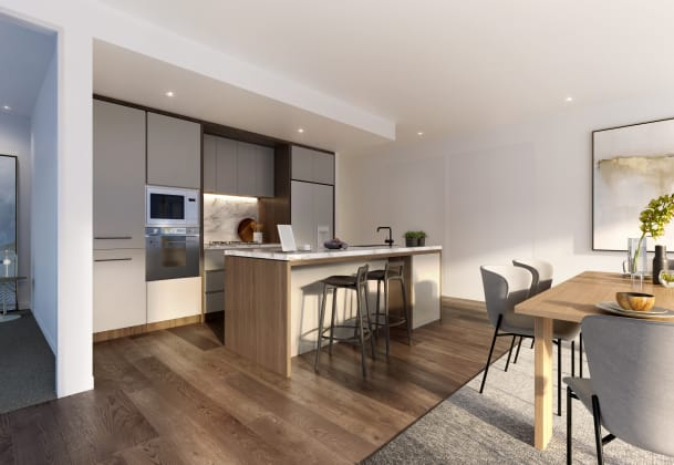 Summit Apartments - 9-11 Williamsons Road, Doncaster. Image: Poly