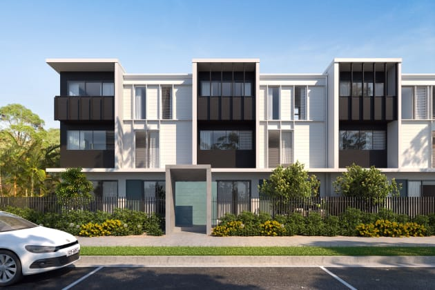 Sway - Lake Kawana Boulevard & Birtinya Boulverard, Birtinya. Image: Stockland
