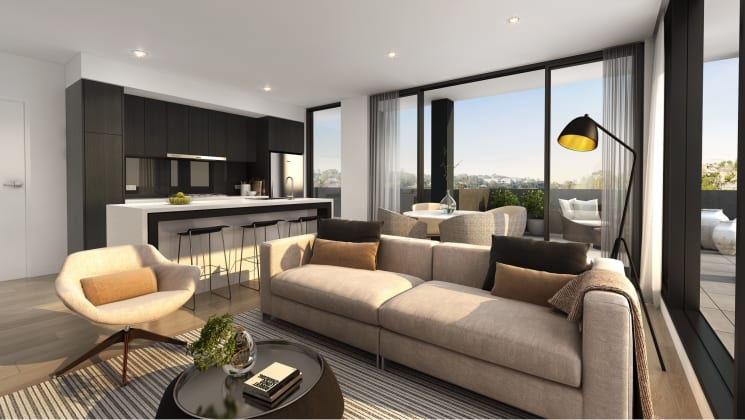 The Alpine - 5 Red Hill Terrace, Doncaster East. Image: Amity