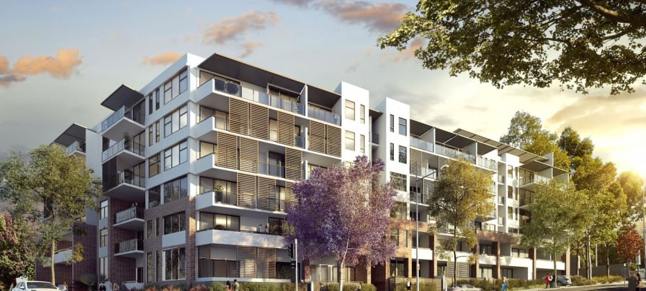 The Boulevard - 93 Caddies Boulevard, Rouse Hill. Image: Colliers