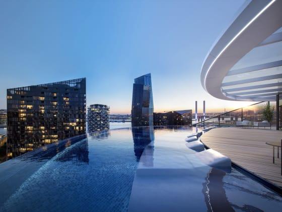 The Docklands Residences - 3-43 Waterfront Way, Docklands. Image: Castran Gilbert