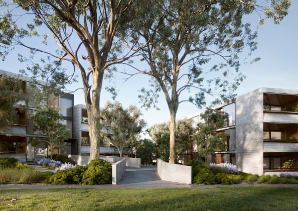 The Grounds of Ivanhoe East - 177 The Boulevard, Ivanhoe East. Image: Metric