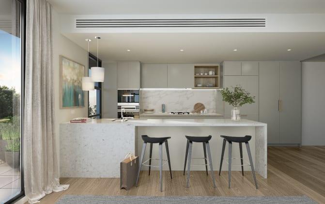 The Henderson - kitchen