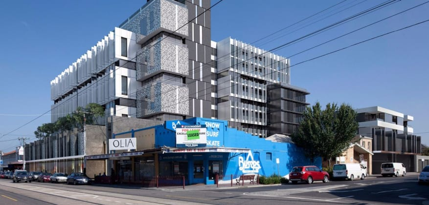 The Mark - 441 Glen Huntly Road, Elsternwick. Image: Merbo Project Management