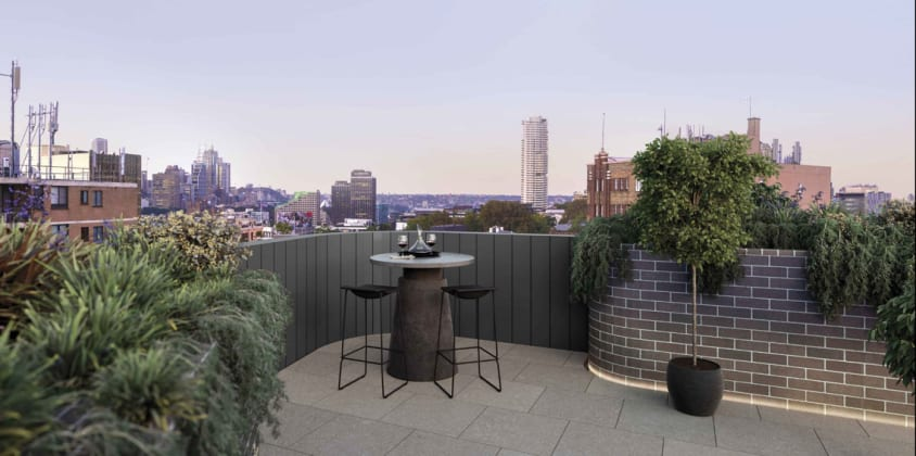 The Rathbone - 23-47 Flinders Street, Surry Hills. Planning Image: Avid