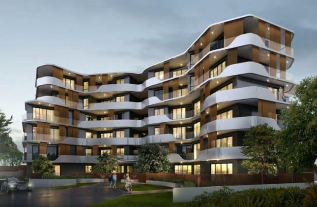The Rondure - 5-7 Higherdale Avenue, Miranda. Image: SAN Developments