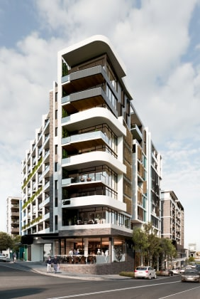 The Siding - 287-309 Trafalgar Street, Petersham. Image: Deicorp